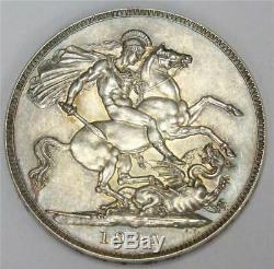 1902 Grande-bretagne Couronne Pièce D'argent Mat Preuve Prf62