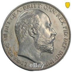 1902 Grande-bretagne Edouard VII Couronne Pcgs Pr62 Matte