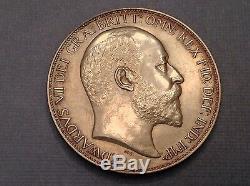 - 1902 Grande-bretagne Edouard VII Matte Crown Preuve