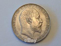 - 1902 Grande-bretagne Edouard VII Un Couronne Choix Matte Preuve -vente Priced