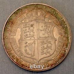 - 1902 Grande-bretagne Edward VII Half Crown Matte Proof