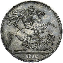 1902 Matt Proof Crown Edward VII British Silver Coin Superbe
