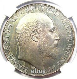 1902 Proof Grande-bretagne Edward Crown Coin Certifié Ngc Proof Detail (pf Pr)