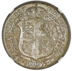 1915 Grande-bretagne Demi-couronne 1 / 2c Ms66 Ngc Aucun Finer! 942947-24