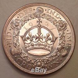 1927 Grande-bretagne Gem Preuve George V Couronne