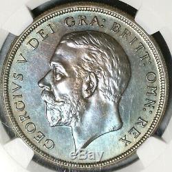1927 Ngc Pf 65 Couronne De La Couronne George V Grande-bretagne Proof Coin 15k (16011702d)