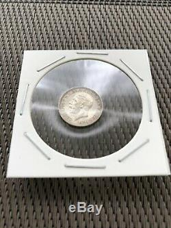 1927 Uk Grande-bretagne Couronne 3d 6 Pièces D'argent Proof Set Avec Étui Original