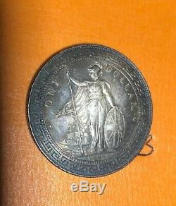 1929 Argent Uk Trade One Dollar Coin Chine Hong Kong 1 Collectables Grande-bretagne