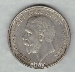 1930 George V Couronne D'argent Couronne Dans Un État Presque Exremely Fine Ou Meilleure