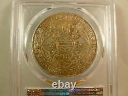 1930 Grande-bretagne Trade Dollar Pcgs 40174809 Au-58 Km #t5