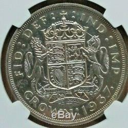 1937 Couronne Grande-bretagne Ngc Pf 63 Bu Épreuve Numismatique