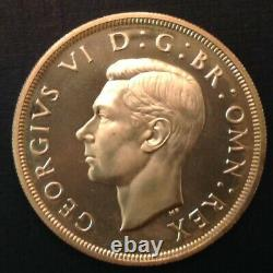 - 1937 Grande-bretagne One Silver Crown George VI Proof