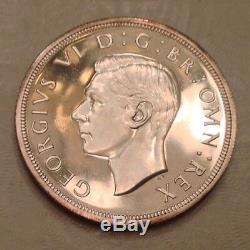 - 1937 Grande-bretagne Un Crown Cameo Proof George VI Vente Priced