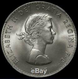 1965 Winston Churchill Couronne Grande-bretagne Ngc Sp67 Finest Connu Mega-rareté