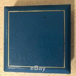 1990 Grande-bretagne 5 Livres D'or Couronne Proof 90ème Anniversaire Coa # 0604