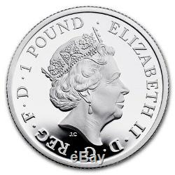 2020 Grande-bretagne 6 Coin Britannia. 999 Preuve Argent Collection De Pièces