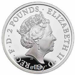 2020 Grande-bretagne 6 Coin Britannia Silver Proof Coin Collection
