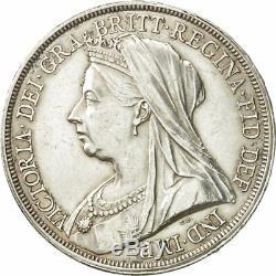 # 480950 Grande-bretagne, Victoria, Couronne, 1893, Au (55-58), Argent, Km783
