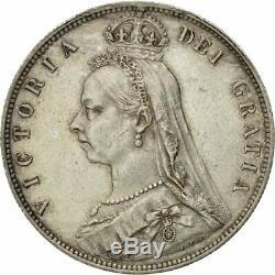 # 481235 Grande-bretagne, Victoria, 1/2 Crown, 1889, Londres, Au (50-53), Argent