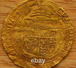 Charles Ier (1625-49) Or Double Couronne, Tour De Menthe