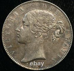 Crown 1845 Victoria Young Head Cinquefoil Stops Gvf (t113)
