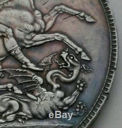 Csc Grande-bretagne Royaume-uni 1 Couronne 1821 Secundo. Km # 680.1.925 De Pièces Silver Dollar
