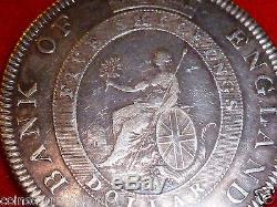 Dollar Commerce Argent 1804 Grande-bretagne Banque D'angleterre Cinq Shillings 40.8mm
