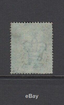 GB Qv 2d Bleu Sg27 Plaque 5 Lg 1855 Très Bon Timbre Occasion Grand Couronne 16 Perf