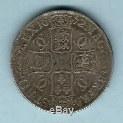 Grande Bretagne. 1672 Charles 11 Couronne. Qvarto. F / F +