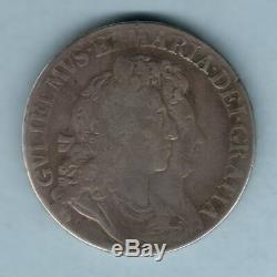 Grande Bretagne. 1692 William & Mary Crown. Qvarto. Beaux Scarce