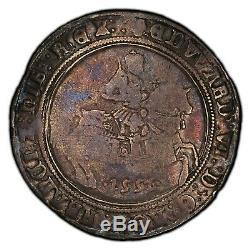 Grande Bretagne. Angleterre. Edward Vi. 1552 Couronne, Pcgs F15. Couleur De Charme