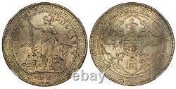 Grande Bretagne. Edward VII 1908-b Ar Dollar Trade. Ngc Ms65 Bombay Km T5
