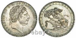 Grande Bretagne. George III 1820 Ar Couronne. Ngc Ms60 Pistrucci. Bord LX S-3787