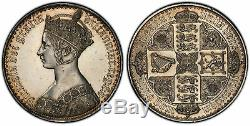 Grande Bretagne. Victoria 1847 Ar Couronne Gothique. Pcgs Pr60 S-3883 Esc-2571