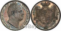 Grande Bretagne. William IV 1831 Ar Couronne. Pcgs Pr64 W Wyon S-3833 Esc-2462