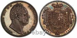 Grande Bretagne. William IV 1834 Ar Crown. Pcgs Pr64 Cameo W. Wyon. S-3833