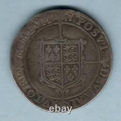 Grande-bretagne. (1601) Elizabeth 1 Couronne. Mm-1. Af/f Flan Complet