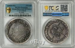 Grande-bretagne 1601elizabeth I Silver Crown Pcgs Xf Grand Portrait