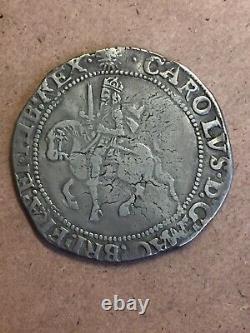 Grande-bretagne 1625-49 Charles I 2/6 Demi-couronne S2778 Gf
