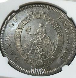 Grande-bretagne 1804 Bank Of England Trade Dollar 5 Shillings Ngc Au Détails