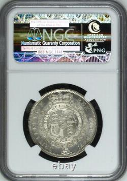 Grande-bretagne 1817 Grand Bust Half-crown 1/2 Crown Choice Uncirculated Ngc Ms65