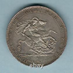 Grande-bretagne. 1818 LVIII George 111 Couronne. Ef Partie Lustre