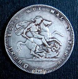 Grande-bretagne 1820 George III Couronne 1820 Pièce D'argent