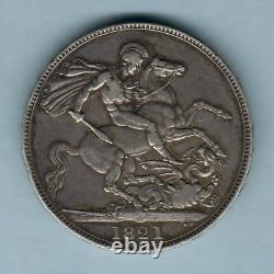 Grande-bretagne. 1821 George 1111 Couronne. Secundo. Gvf