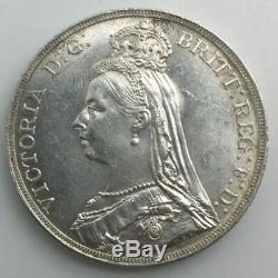Grande-bretagne 1889 Jubilé Couronne Reine Victoria Très Belle Bien Frappé Appel Des Yeux