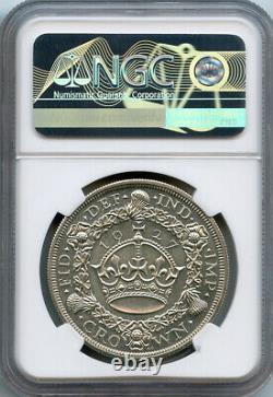 Grande-bretagne 1927 King George V Crown Graded Ngc-proof-62