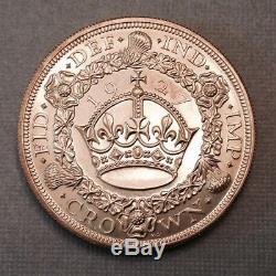 - Grande-bretagne 1927 Silver Crown George V Preuve Seule Question 15 000 Frappées