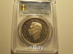 Grande-bretagne, 1937 George VI Couronne, Pcgs Pr 66 Cameo. 26000 Mintage