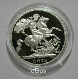Grande-bretagne 2013 5 Livres St George & Dragon Silver Coin
