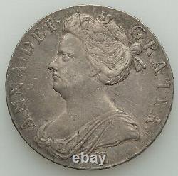 Grande-bretagne Anne Crown 1707-e, La Menthe Edimbourg, Km526.1, S-3600
